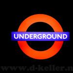 London Underground Schild