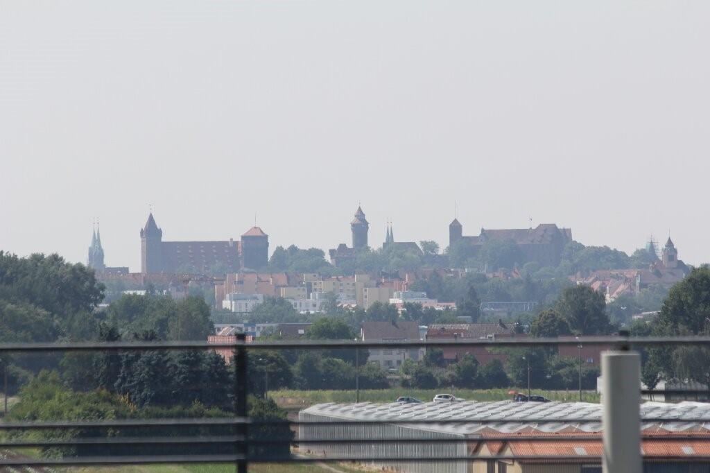 Orginal Bild Nürnberg Skyline