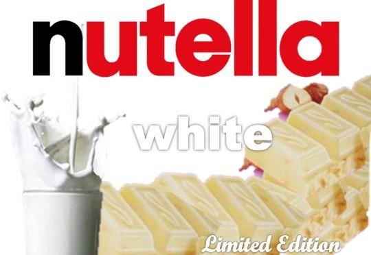 Weiße Nutella DIY