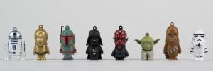 Tribe FD007402 Disney Star Wars Pendrive Figur 8 GB
