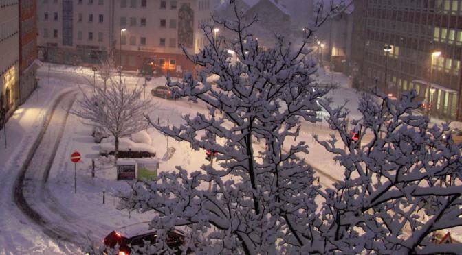 Bald wieder Schnee Wetter!?