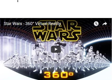 Star Wars 3D Video