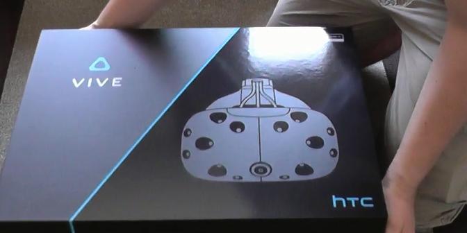 HTC Vive Auslieferung