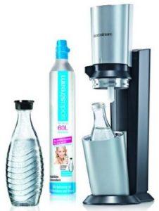 SodaStream Wasserspudler Crystal Glaskaraffen