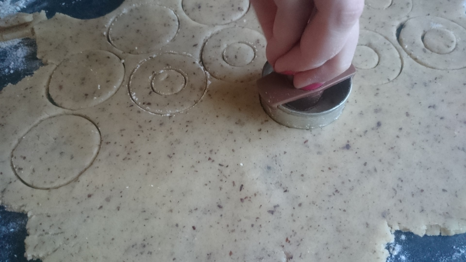 Spitzbuben ausstechen
