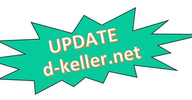 Webseiten Update – Neue Rezepte und Kurioses